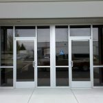 glass door business front door